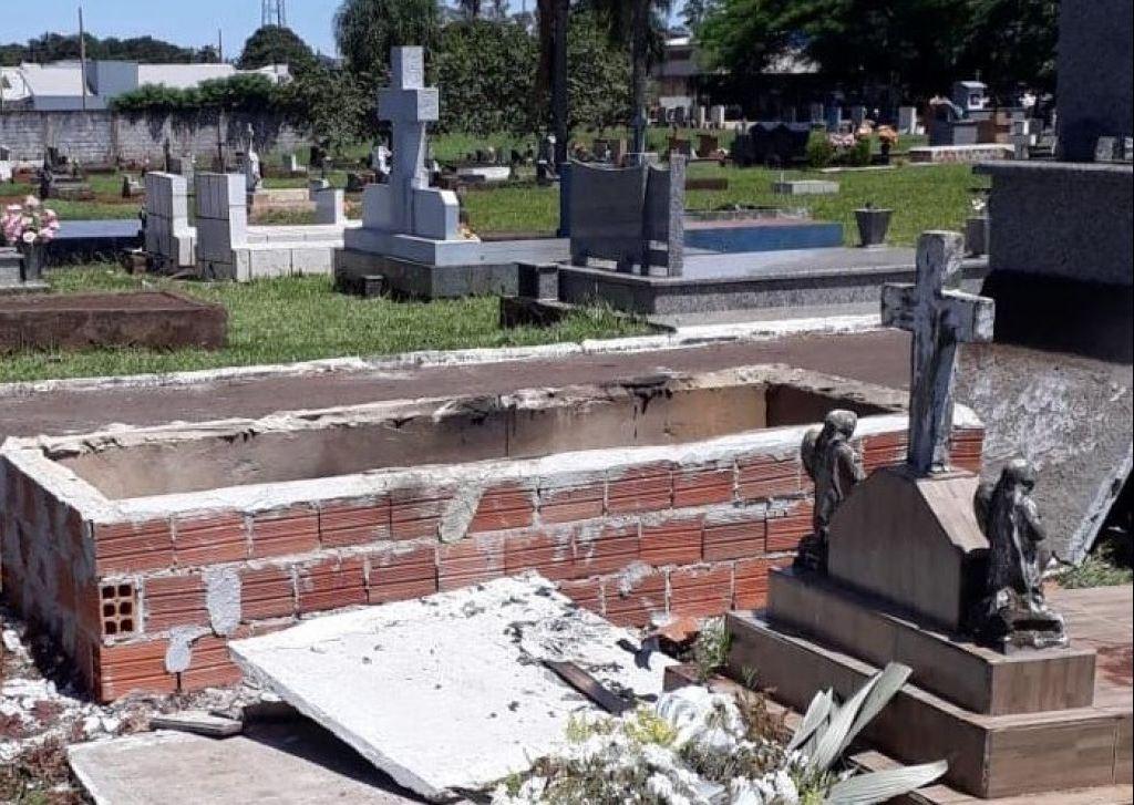 Homem assassinado em Umuarama tem túmulo violado e corpo queimado em  Juranda