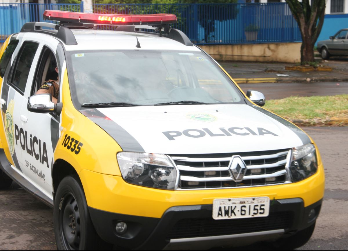 Polícia Militar prende dupla suspeito de furta maços de cigarros