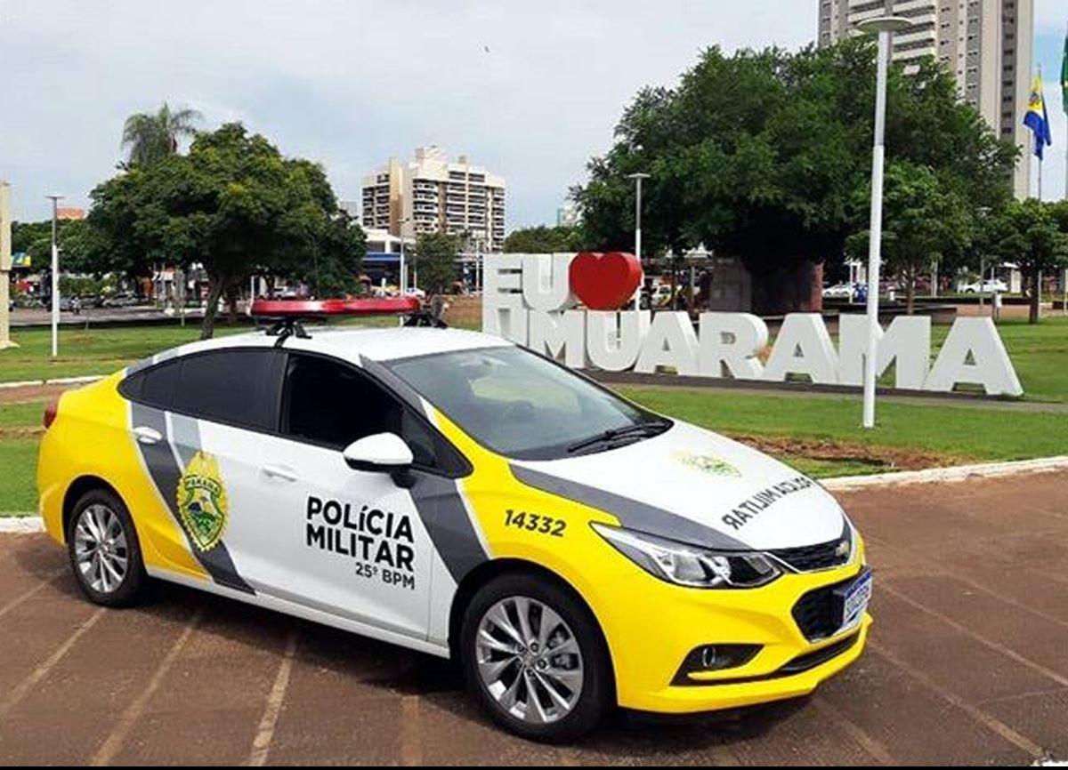 25º BPM de Umuarama comemora 6 anos com entrega de novas  viaturas